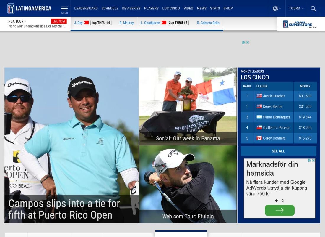 PGA touren Latinamerika